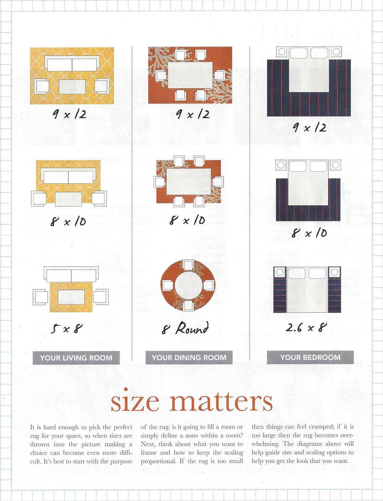 At Harry King We Let You Take Home Different Sizes To Try Out. Here Is A  General Floor Layout For Living Room ...